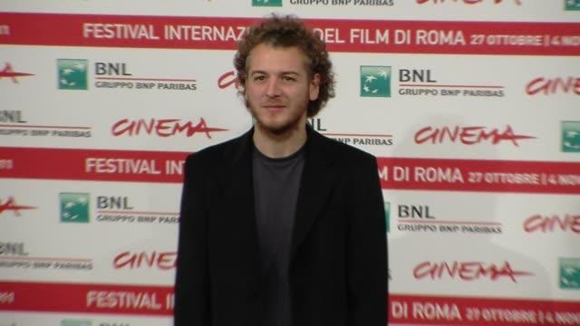 eduard gabia eduard gabia on october 30 2011 in rome italy - フォトコール点の映像素材/bロール