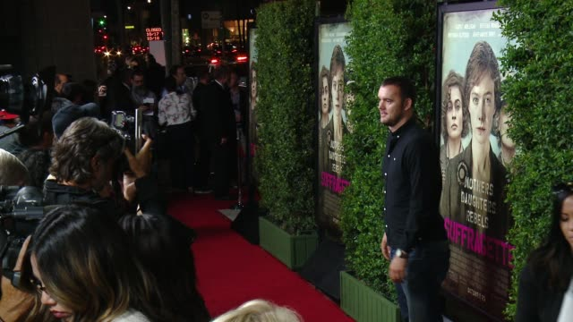 "Eduard Grau at ""Suffragette"" Los Angeles Premiere in Los Angeles CA"