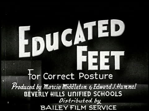 educated feet for correct posture - 1 of 16 - see other clips from this shoot 2339 stock videos and b-roll footage
