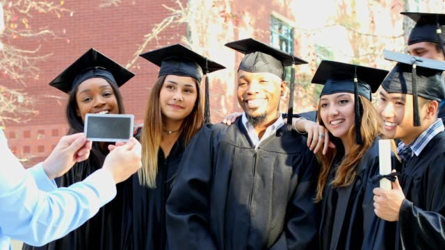 education in united states - mortarboard stock videos and b-roll footage