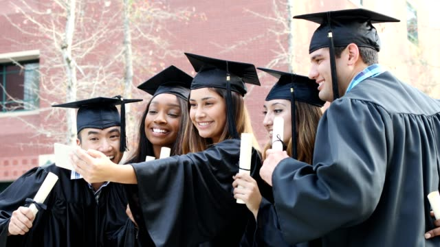 education in united states - graduation stock videos & royalty-free footage