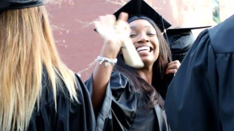 utbildning i usa - examen bildbanksvideor och videomaterial från bakom kulisserna