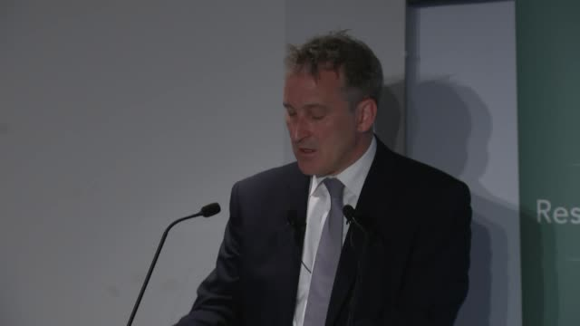 education secretary damian hinds mp make his first major speech on social mobility england london resolution foundation int damian hinds mp speech re... - damian hinds stock videos and b-roll footage
