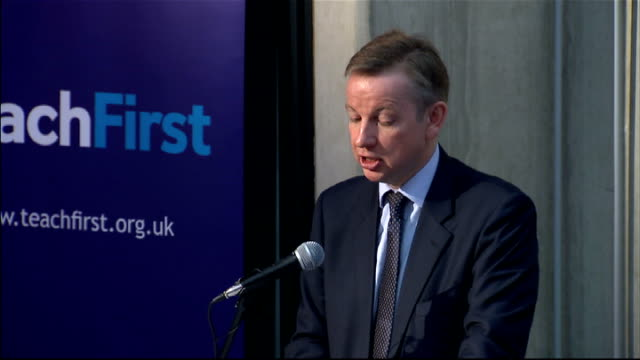 education secretary michael gove outlines education reforms and it would align us with the expectations other advanced countries have of their... - new age stock videos & royalty-free footage