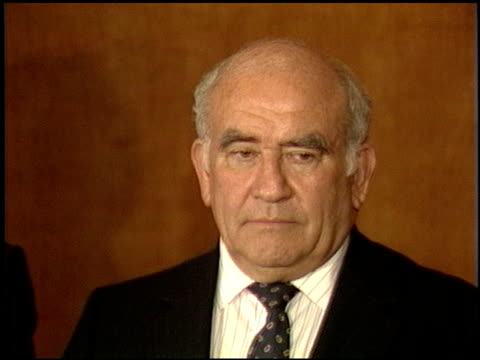 edward asner at the now anniversary at dorothy chandler pavilion in los angeles california on december 1 1986 - dorothy chandler pavilion stock videos and b-roll footage