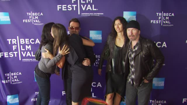 Edward Burns Ali Hewson Bono Jane Rosenthal Christy Turlington Burns Morleigh Steinberg The Edge at the Premiere Of 'No Woman No Cry' 9th Annual...
