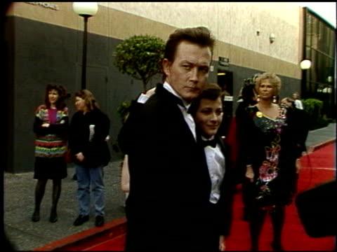 edward furlong at the 1992 people's choice awards at universal studios in universal city california on march 1 1992 - 1992年点の映像素材/bロール