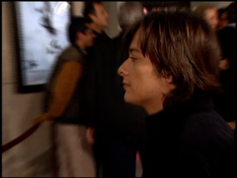 edward furlong at the 'american history x' premiere at century plaza in century city, california on october 26, 1998. - edward furlong stock videos & royalty-free footage