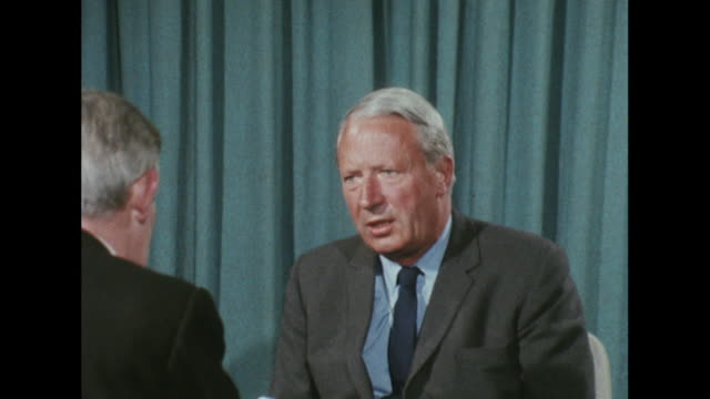 Edward Heath condemns the Russian led invasion of Czechoslovakia