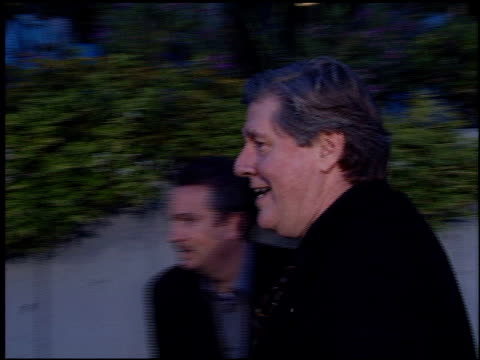 edward herrmann at the cat's meow at harmony gold in hollywood, california on april 10, 2002. - harmony gold preview theatre stock videos & royalty-free footage
