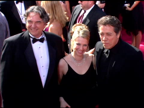 vídeos y material grabado en eventos de stock de edward james olmos and guests at the 2006 primetime emmy awards arrivals at the shrine auditorium in los angeles, california on september 19, 2004. - premio emmy anual primetime