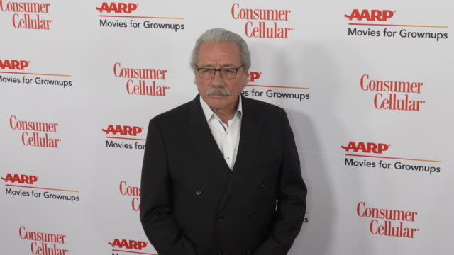 edward james olmos at the 18th annual movies for grownups awards at the beverly wilshire four seasons hotel on february 04, 2019 in beverly hills,... - フォーシーズンズホテル点の映像素材/bロール