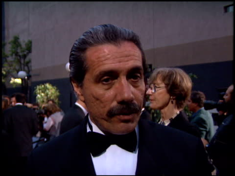 edward james olmos at the 1995 screen actors guild sag awards at universal studios in universal city california on february 25 1995 - 1995 stock videos & royalty-free footage