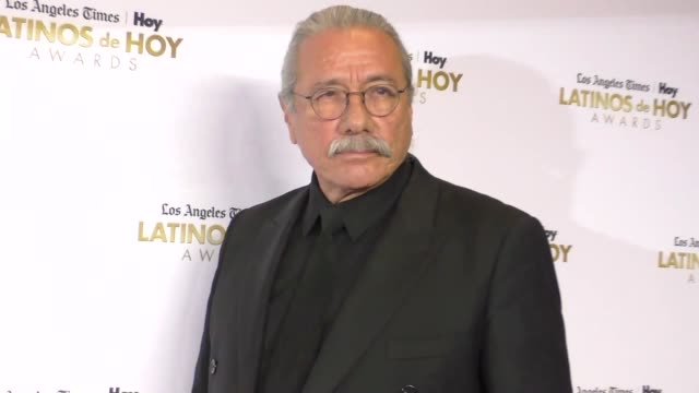 edward james olmos at the 2016 latinos de hoy awards at dolby theatre in hollywood on october 09, 2016 in hollywood, california. - the dolby theatre stock videos & royalty-free footage