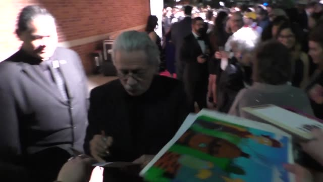 Edward James Olmos at the Annie Awards at UCLA's Royce Hall in Westwood at Celebrity Sightings in Los Angeles on February 06 2016 in Los Angeles...