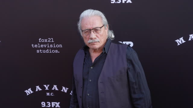 edward james olmos at the mayans mc season two premiere at arclight cinerama dome on august 27 2019 in hollywood california - cinerama dome hollywood stock videos & royalty-free footage