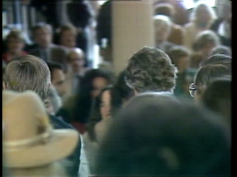 edward kennedy and walter mondale campaign in boston usa massachusetts boston side jazz band sof ms senator edward kennedy towards with walter fritz... - toffee stock-videos und b-roll-filmmaterial