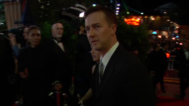 edward norton at the 2010 vanity fair oscar party hosted by graydon carter at west hollywood ca. - vanity fair oscar party stock videos & royalty-free footage