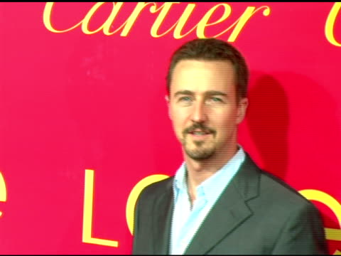 Edward Norton at the Cartier and Interview Magazine Celebration of Love at the Cartier Mansion in New York New York on June 8 2006