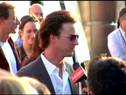 Edward Norton at the 'Down in the Valley' Los Angeles Premiere at the Cinerama Dome at ArcLight Cinemas in Hollywood California on June 16 2005