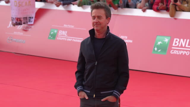 ITA: Red carpet Edward Norton - 14th Rome Film Fest 2019