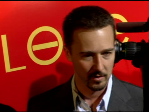 Edward Norton on his charity the Maasai Wildreness Conservation Trust the need for conservation his Gucci suit from a play he was in and his new film...