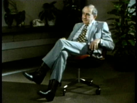 edward teller being interviewed audio / lawrence livermore national laboratort, california, usa - 1985 stock videos & royalty-free footage