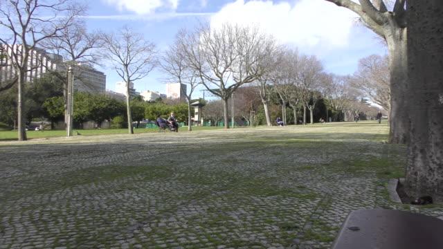 Edward VII Park in Lisbon