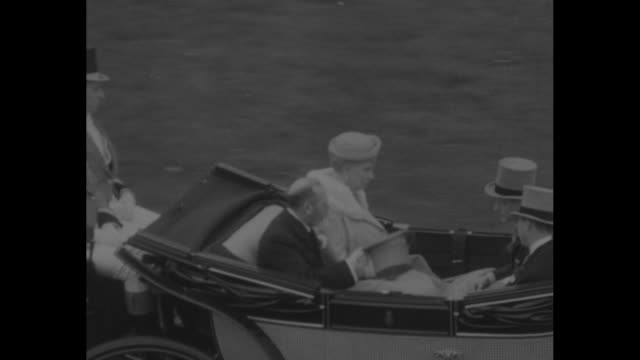 edward viii with another man both in kilts tams and walking sticks reviews soldiers who are wearing suits and medals / vs open royal coach with queen... - wallis simpson stock videos & royalty-free footage