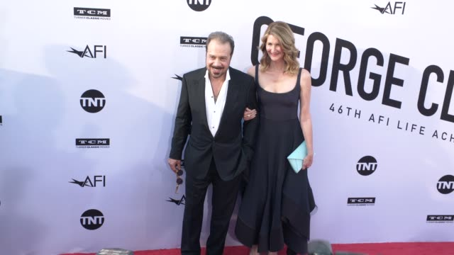 Edward Zwick and Laura Dern at the American Film Institute Honors George Clooney With 46th AFI Life Achievement Award at Dolby Theatre on June 07...