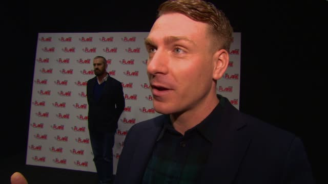 interview edwin thomas on working with rupert everett at 'the happy prince' uk premiere at bfi southbank on march 28 2018 in london england - bfi southbank stock videos & royalty-free footage