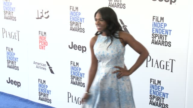 Edwina Findley at the 2017 Film Independent Spirit Awards Arrivals on February 25 2017 in Santa Monica California