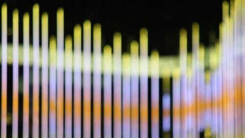 vidéos et rushes de effet de lumière en mouvement - but égalisateur