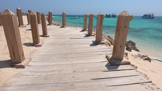 vídeos de stock e filmes b-roll de egyp beach - red sea