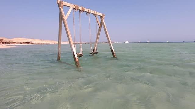 spiaggia di egyp - red sea video stock e b–roll