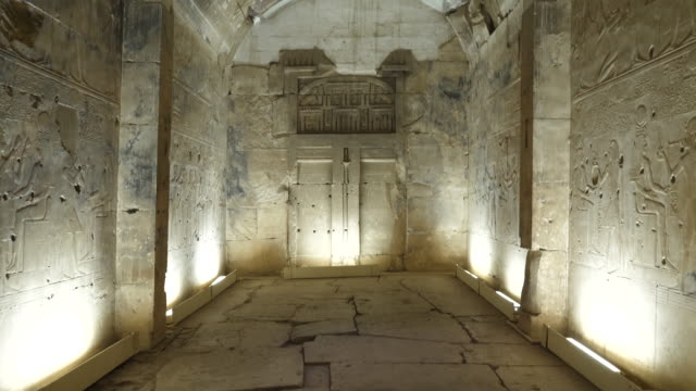 egypt, abydos - temple of sety i - carving craft product stock videos & royalty-free footage