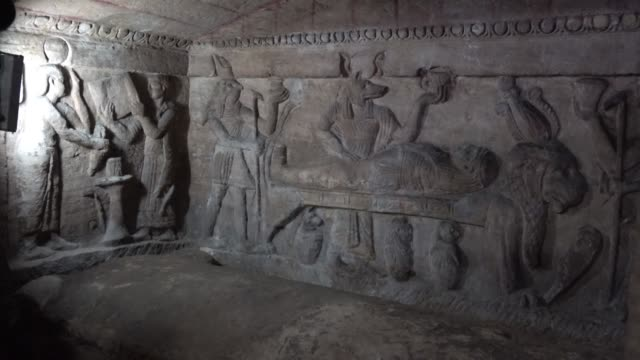 Egypt announces the completion of a project to save famed 2000 year old catacombs in the costal city of Alexandria from rising waters