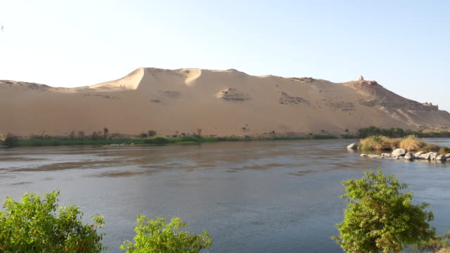 vídeos y material grabado en eventos de stock de egypt, aswan - sailing in the nile - egipto