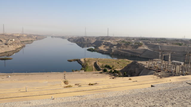 egypt, aswan - the high dam - egypt stock videos & royalty-free footage
