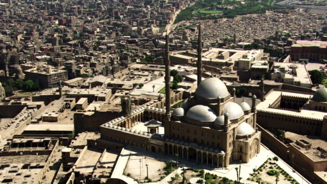 egypt, cairo: mosque of muhammad ali - mosque stock videos & royalty-free footage