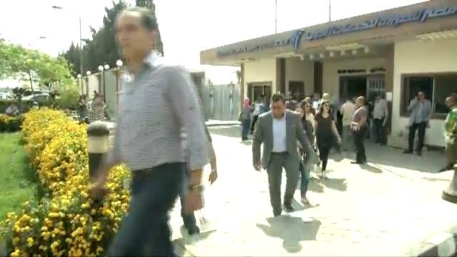 Egypt Crashed Egyptair Families