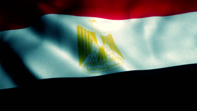 stockvideo's en b-roll-footage met vlag van egypte, egyptische vlag - 10 seconds or greater