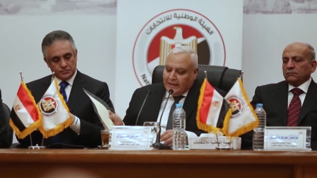 Egypt will hold a presidential election on March 2628 head of the country's electoral commission announced Monday Speaking at a news conference...