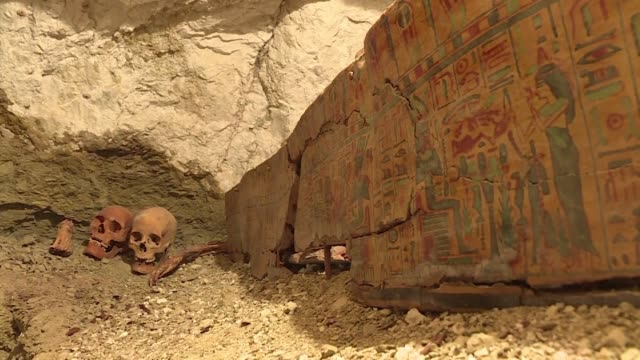 Egyptian archaeologists have uncovered the tomb of a goldsmith dedicated to the god Amun and the mummies of a woman and her two children according to...