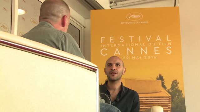 Egyptian director Mohamed Diab is presented his film Clash which kicked off the Un certain regard selection of the Cannes film festival