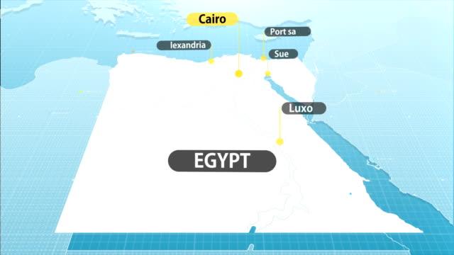 egyptian map