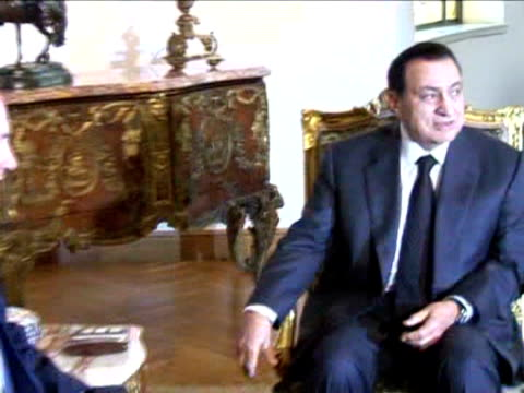 stockvideo's en b-roll-footage met egyptian president hosni mubarak is to undergo surgery in germany on saturday to remove his gall bladder according to news agency mena prime minister... - blaas urinewegstelsel
