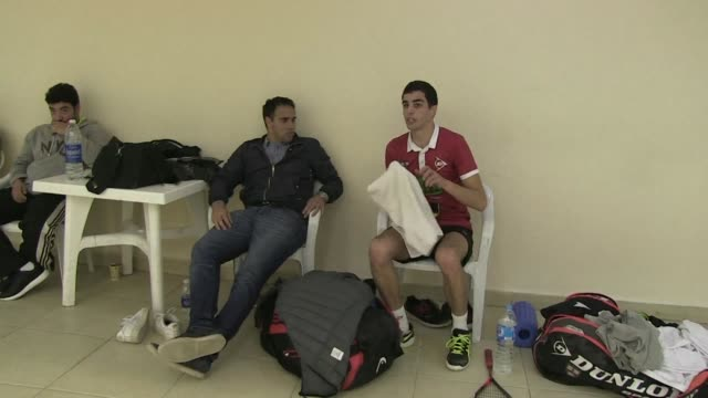egyptian squash players are dominating the sport globally with coaches and their opponents saying their tight knit community and freer training... - squash sport stock videos & royalty-free footage