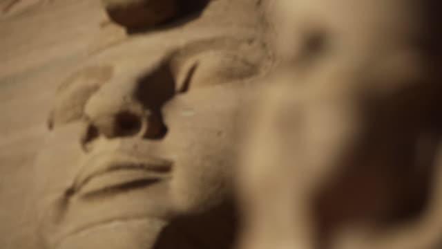 Egyptian statues of Ramesses II