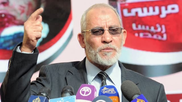 egypts public prosecutor on wednesday ordered the arrest of muslim brotherhood supreme guide mohammed badie and other top leaders of the movement for... - staatsanwalt stock-videos und b-roll-filmmaterial